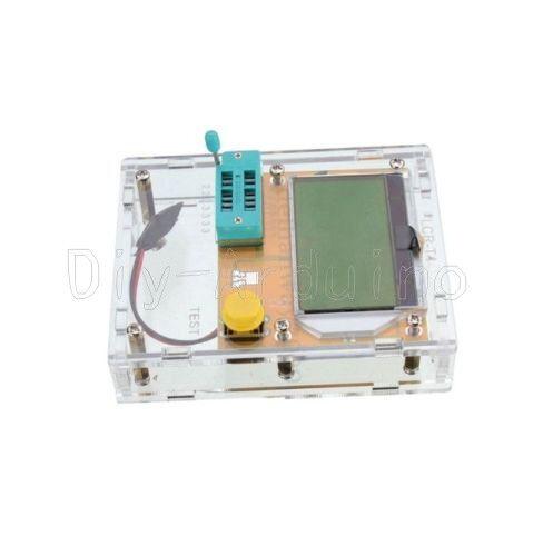 1Stks Clear Acrylic Case Housing For LCR-T4 Transistor Tester ESR SCR//MOS PNP