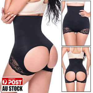 AU-Tummy-Control-Booty-Lift-Butt-Lifter-Enhancer-Bum-Body-Shaper-Slimmer-Panties