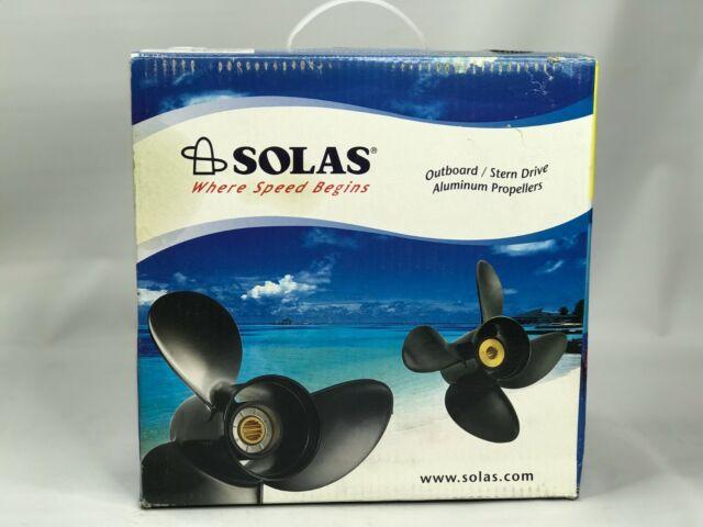 Solas Prop Amita C3 Yamaha//Honda Aluminum 40-60HP 17 #3311-110-17