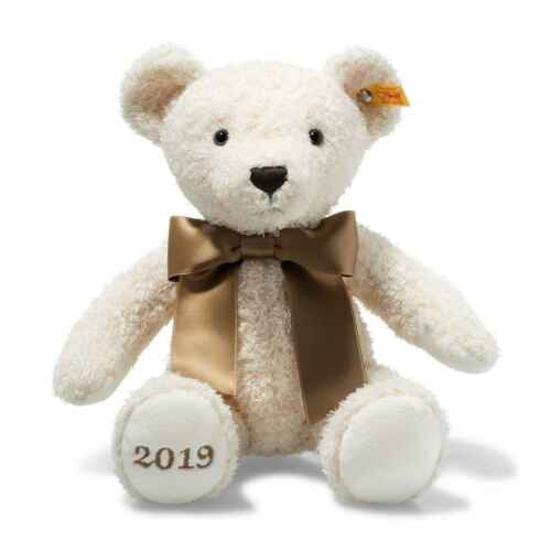 Steiff Cosy Year Teddy Bear 2019 Cream Plush Toy #113376
