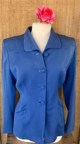 Vintage Gene Shelly Women's Wool Jacket Blazer 195
