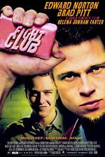 Fight Club 12x17inch Brad Pitt Movie Silk Poster Door Wall Decal