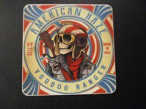 New Belgium Brewing Voodoo Ranger Metal Beer Tacker Sign Craft Beer Brewery New!