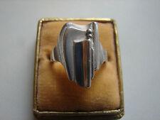 alter Ring, skandinavisches Design, 925iger Silber, Gr 61