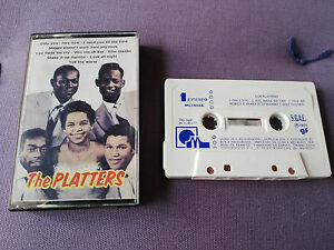 THE-PLATTERS-EXITOS-HITS-CINTA-TAPE-CASSETTE-1977-MACIMSA-SPANISH-EDITION-PAPER