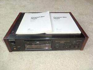 Sony-cdp-x7esd-high-end-reproductor-de-CD-totalmente-funcional-incl-bda-2j-garantia