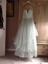 H&M CONSCIOUS MINT  TULLE FAIRYTALE WEDDING DRESS RARE BLOGGERS