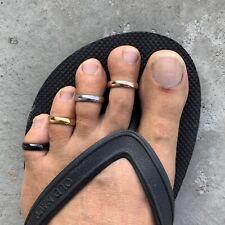 Sterling Silver Fitted Toe RingHawaiian Island Lei