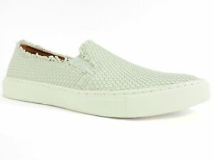 Kicky Low Top Slip-On Sneakers White