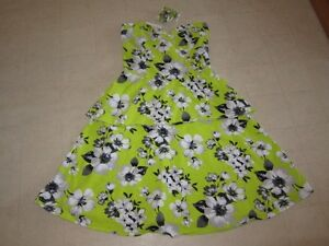Aeropostale-Floral-Green-Sundress-For-Women-Sz-S-NWT-49-50