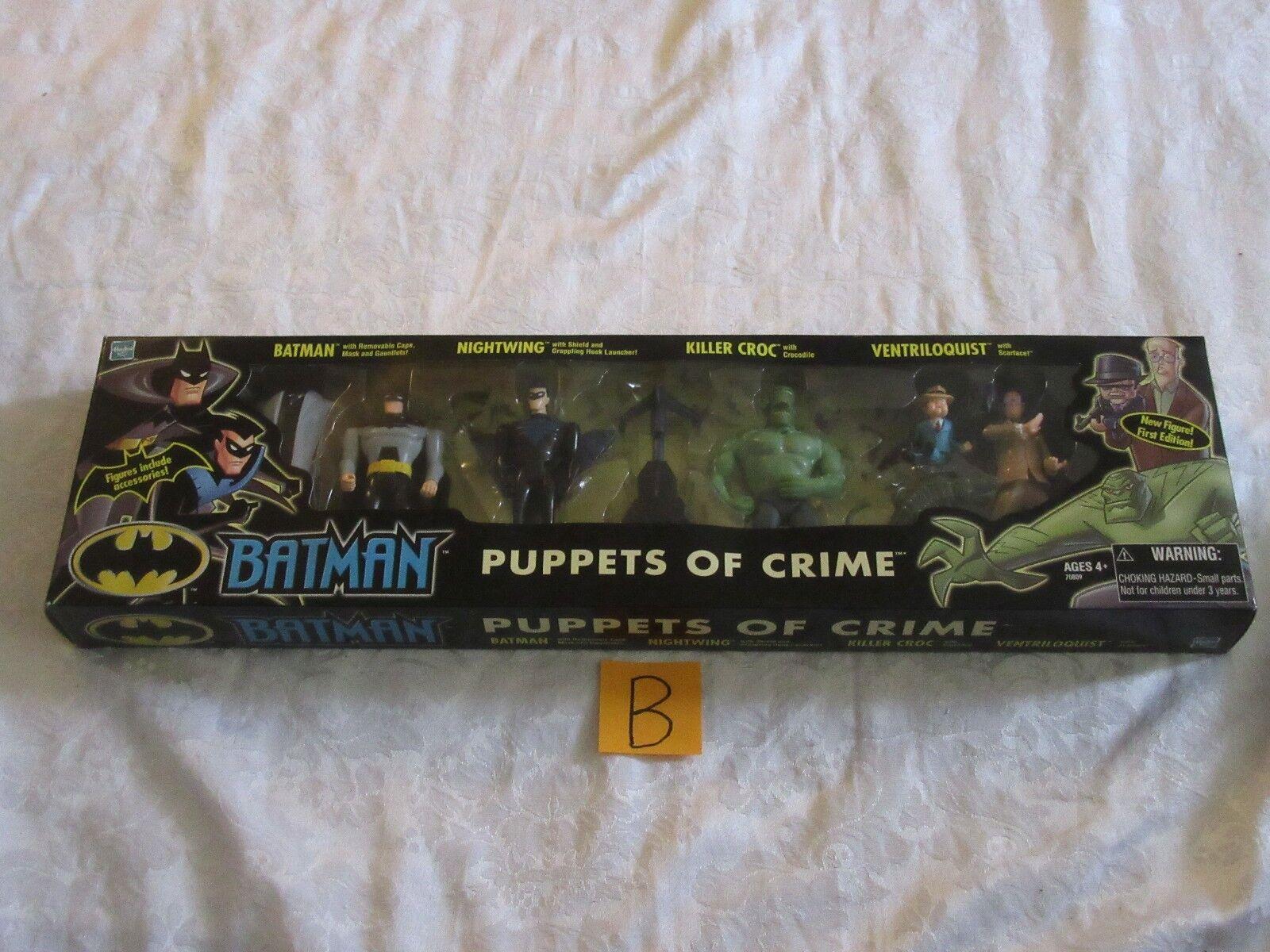 Mattel Batman Animated marionnettes de crime Set Action Figure B