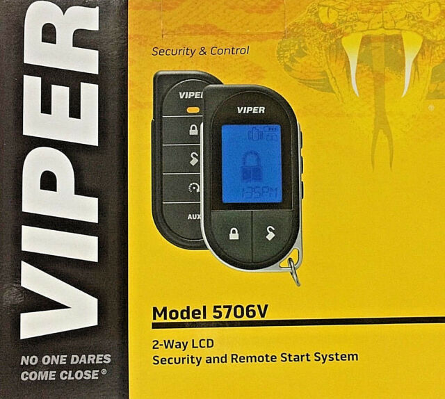 Viper 5706V 2 Way Security System With Remote Start System