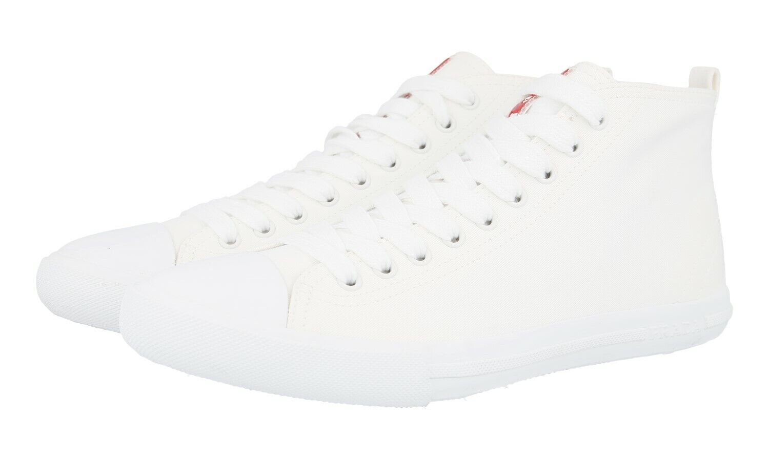 shoes HIGH-TOP SNEAKER PRADA LUSSO 4T2583 BIANCO NUOVE 6,5 40,5 41