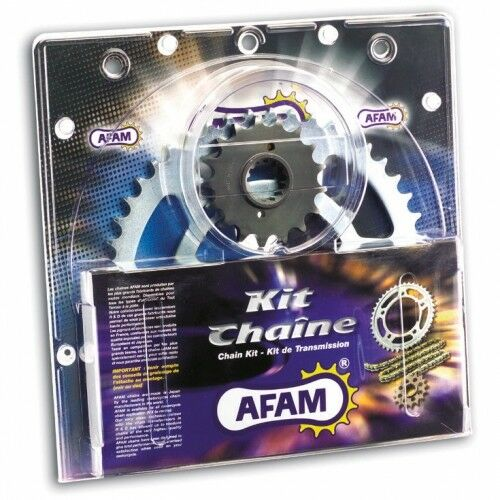 AFAM 520M Clip Kettensatz Stahl Aprilia RS125 Extrem//Replica 34 PS 1998 MP