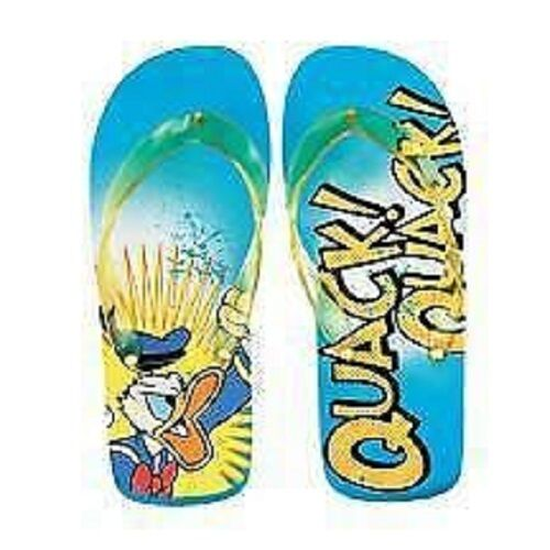 2007 DONALD DUCK  Disney Character FLIP FLOPS Collectible THONG SANDALS Size 5-8 Collectible FLOPS 18a45e