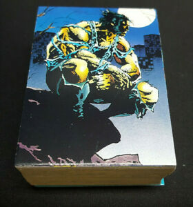 1992-Marvel-Wolverine-Complete-Base-Trading-Card-Set-1-90-Comic-Image-Marvel