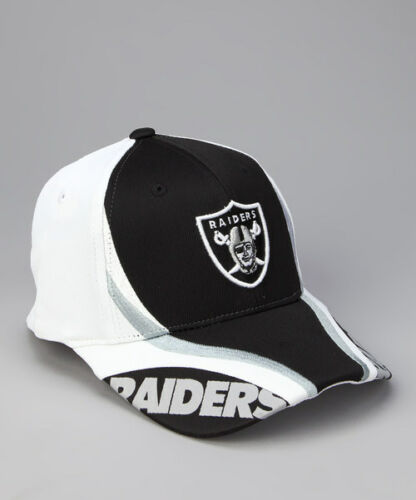 Oakland Raiders Youth Black /& White Flex Fit Baseball Hat NWT