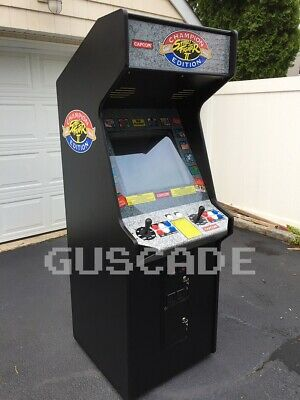 Street Fighter 2 Champion Edition Arcade Machine Full Size Multi