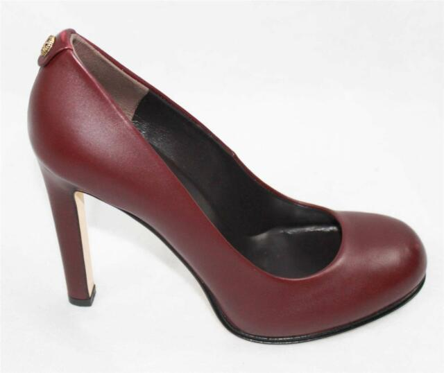 f3044a42622 Auth Gucci Women Leather High Heel PUMPS Shoes 37 for sale online