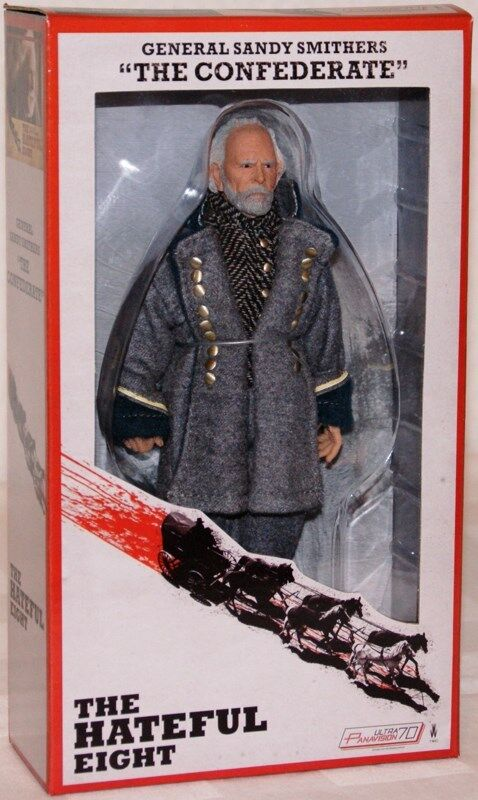 Neca The Hateful Eight General Sandy Smithers Actionfigur 20 cm. lang NEU / OVP