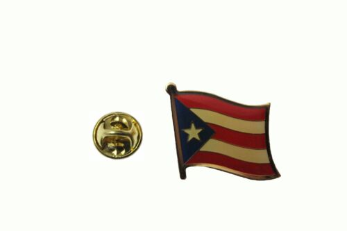 PUERTO  RICO Country Flag Metal lapel PIN BADGE ..NEW