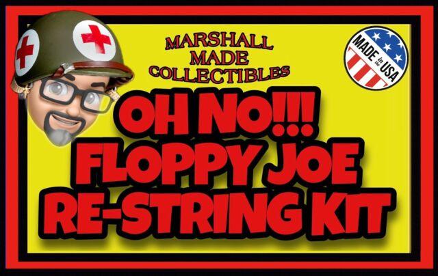 Vintage Hasbro GI JOE Palitoy ACTION MAN REAL HEROES Figure Re-String Kit