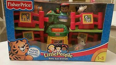 Very Rare Fisher Price 2002 Little People Baby Zoo Animals New Ebay