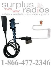 2-Wire Surveillance Earpiece For VERTEX VX261 VX264 VX531 VX534 EVX531 Radio