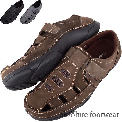 Mens / Gents Genuine Leather Summer / Holiday Casual Sandals / Shoes Angenehm Bis Zum Gaumen