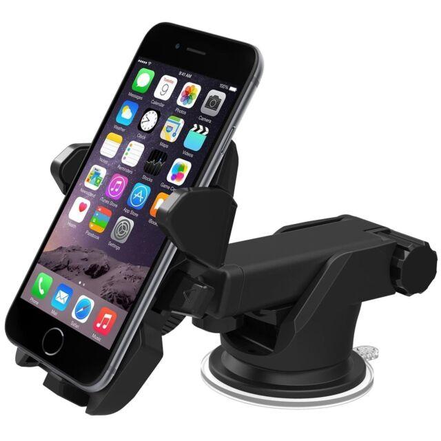 IOttie Easy One Touch 2 Dashboard & Windshield Smart Phone Mount Black