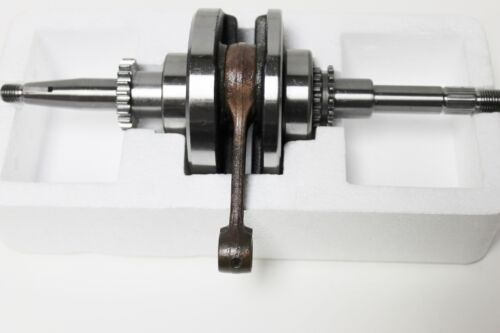 Chinese Scooter Crank Shaft for 22 tooth oil pump  GY6//QMB139 50cc