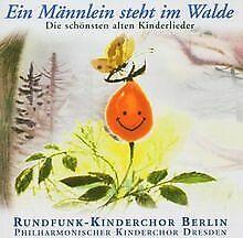Ein-Maennlein-Steht-im-Walde-von-Rundfunk-Kinderchor-CD-Zustand-gut