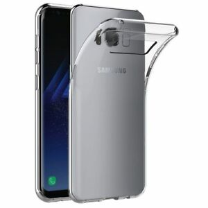 Ultraslim-Silikon-Huelle-transparent-Soft-Case-Cover-fuer-Samsung-Galaxy-S8-Neu