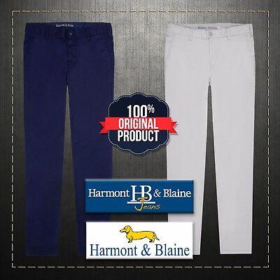 Harmont /& Blaine Gray Chino Trousers