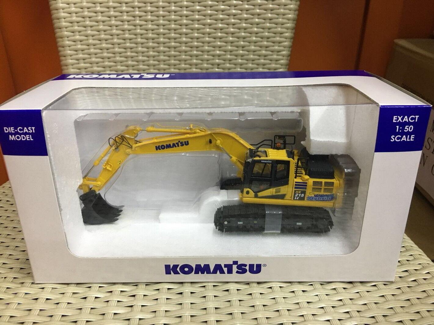 Universal Hobbies 1 50 Komatsu HB215 LC3 Hybrid Excavator DieCast Model UH8135