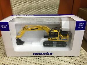 Universal-Hobbies-1-50-Komatsu-HB215-LC3-Hybrid-Excavator-DieCast-Model-UH8135