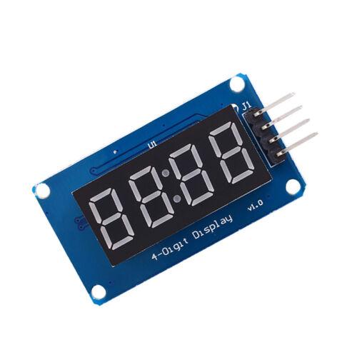 4 Bits Digital Tube LED Display Module With Clock Display TM1637 for Arduino xj