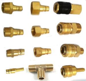 """Kupplungsdose Druckluftkupplung NW 7,2 1//4/"""" IG /& AG Messing Pneumatik Druckluft"""