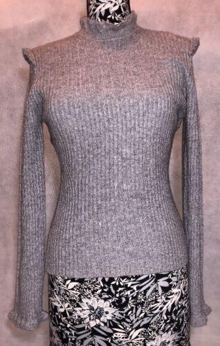 Størrelse Derek 10 Lam Nwt Sweater Crosby M Grå Kvinder qrqOUX