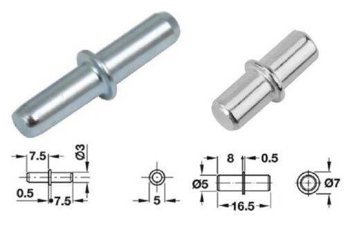 Étagère Supports métal épingles pinces à rivets en 5 mm 3 mm Trou Meuble Cuisine Armoire