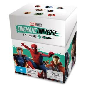 Details about Marvel Studios Cinematic Universe Phase 3 Part 1 Limited  Edition Blu-ray/DVD Set