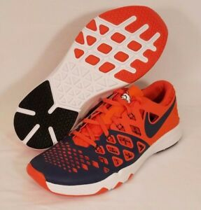 Nike 412 5 Amp ​​4 10 Taille Denver 848587 Chaussures Train Broncos Nfl Speed Z7dwZxqFp
