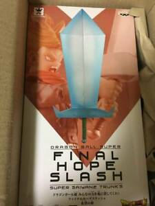 Banpresto Dragon Ball Z Super Saiyan 2 Trunks Final Hope Slash Figure Japan F//S