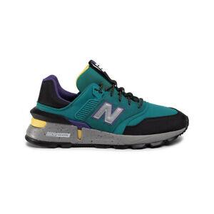 New-Balance-997-Sneaker-Uomo-MS997SKA-Green-Black