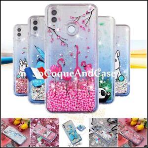 COQUE-3D-Etui-housse-Paillettes-DYNAMIC-Glitter-Case-Cover-Huawei-P-Smart-2019