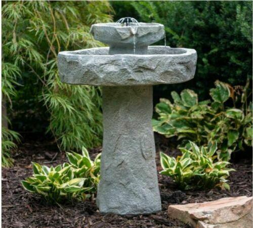 Solar Ed Garden Water Fountain On