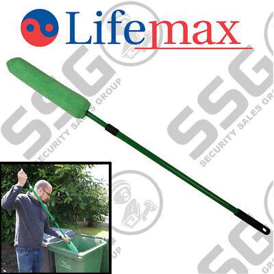 Lifemax Wheelie Bin Loofah - Bin Sweep Cleaning Brush ...