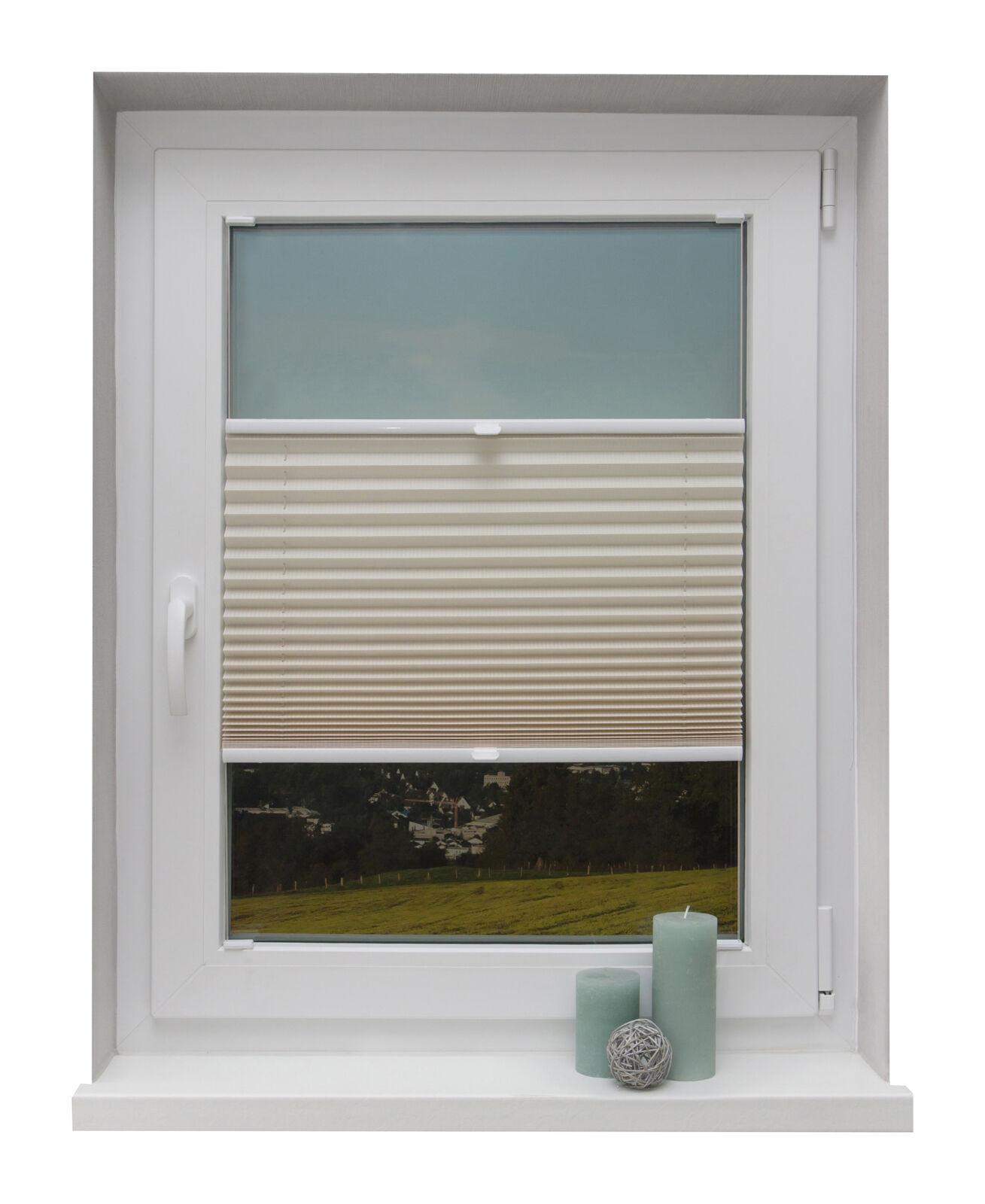 Preishit zanzariere su misura CREMA Fusion Stripe Per Montaggio Finestre Barra di vetro