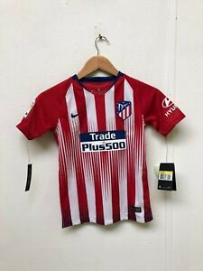 size 40 80935 ba0cc Details about Atlético Madrid Nike Kid's 18/19 Home Shirt - S - Griezmann 7  - New with Defects