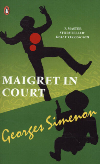 Red classics: Maigret in court by Georges Simenon (Paperback / softback)